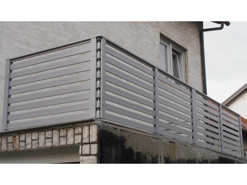 PVC panel za ograde TIP75H